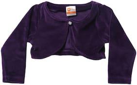 612 League Cotton Solid Top for Unisex Infants - Purple