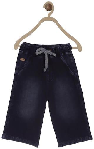 612 League Boy Solid Shorts - Black