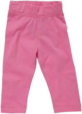 612 League Unisex Cotton Solid Leggings - Pink