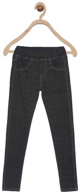 612 League Black Girls Jeans