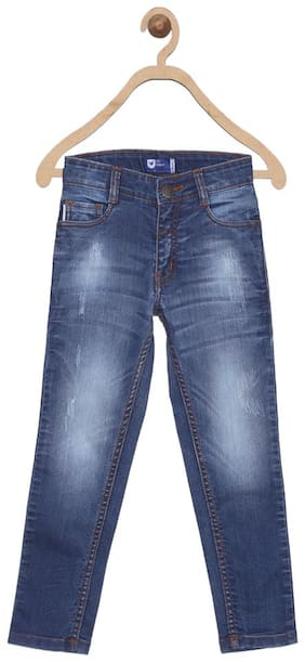 612 League Boy's Regular fit Jeans - Blue