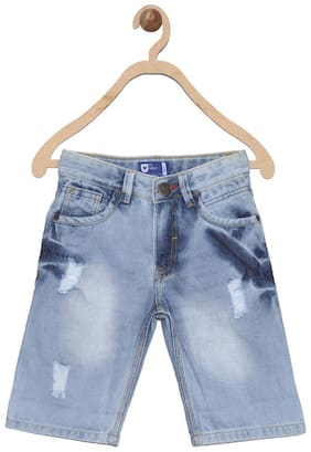 612 League Boy Acid wash Shorts - Grey