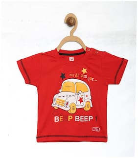 612 League Baby Boys T-shirt (Red)