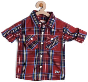 612 League Baby Boys Shirt (Red)