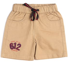 612 League Baby boy Cotton Solid 3/4th - Yellow