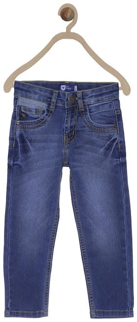 612 League Boy's Slim fit Jeans - Blue