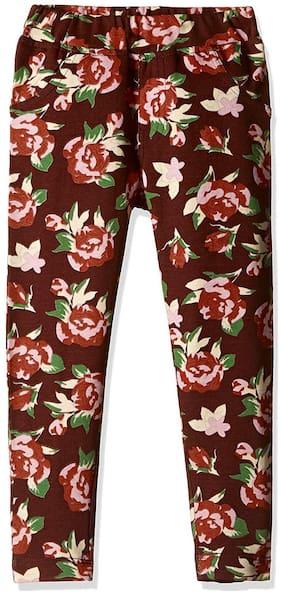 612 League Girl Cotton Trousers - Multi