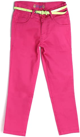 612 League Girl Cotton Trousers - Pink