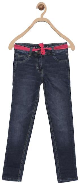 612 League Navy Blue Girls Jeans