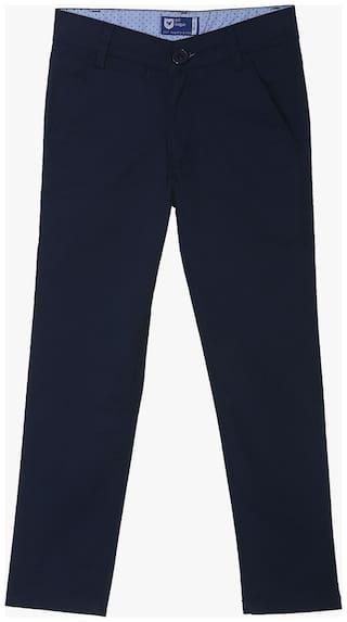 612 League Boy Solid Trousers - Blue