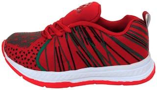 Seventy Seven Red Boys Sport shoes