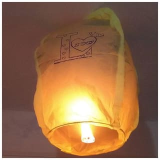 80x43x32cm 6pcs Skylight Burning Wax Block Lift Paper Hot Air Balloon Paper Lantern Outside Room Decoration Holiday Celebration