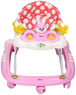 GTC Baby Musical Walker -( IT N- 815-2 ) (Pink)