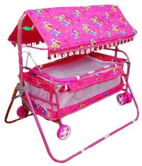 A AND PRODUCTS BABY CRADLE PINK