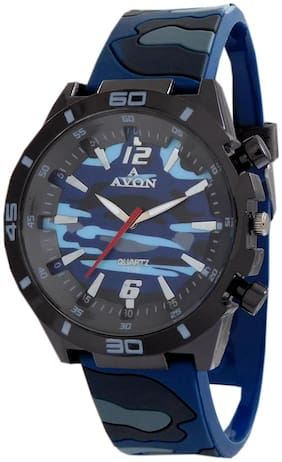 A Avon Army Color Analog Kids Watch For Boys - 1002624