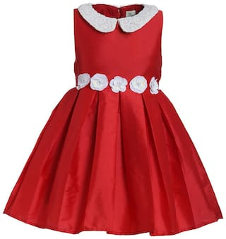 A Little Fable Lace Collar Dress (3-4Y)