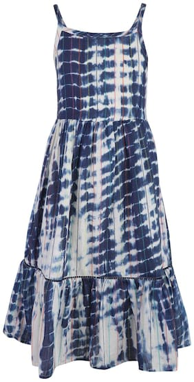 Multi Fit And Flare Dress