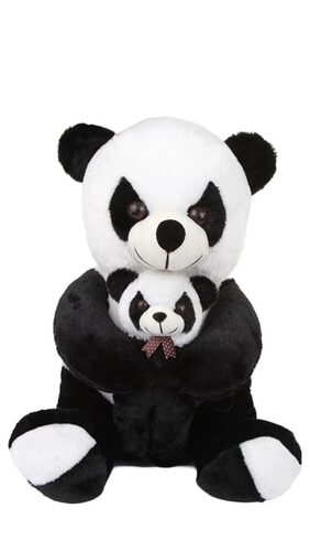 A.P. Traders Panda Mom With Baby Panda- 60 CM