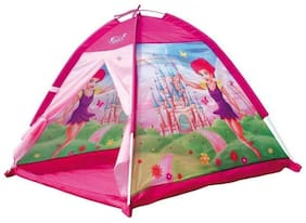 Little Rock Kids Fairy House Cottages Tent for Indoor Outdoor and Travel Tent (Multicolor)