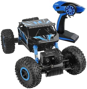 Aarav Off-road RC cars 1:18 Scale Monster Car 2.4Ghz 4WD High Speed Racing Cars, Rock Crawler Truck, Electric Cars for Kids