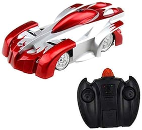 Aarav Remote Control Car Toy, Rechargeable RC Wall Climber Car with Remote control (Multicolor)