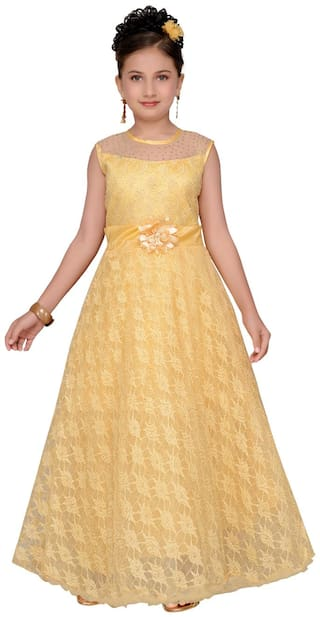 Aarika A-Line Party wear Maxi Shape Gown for Girls