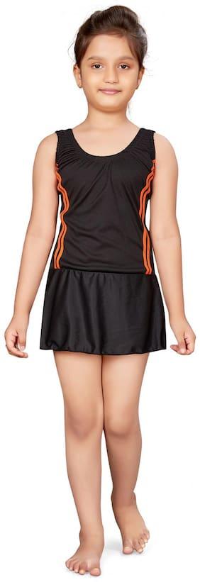 Aarika Girl Nylon Shorts - Black