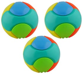 Aarushi Educational Ball Puzzle Toy Multicolor Pack Of 3