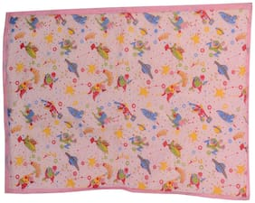 Aarushi Large Baby Pink Spongy Plastic Chaining Mat(arsh_59)