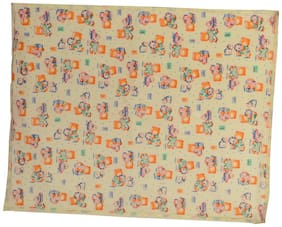 Aarushi Medium Baby Orange Spongy Plastic Chaining Mat(arsh_58)