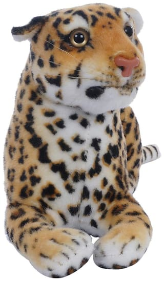Aarushi Stuffed Soft Cheetah Figure Toy for Kids Multicolor