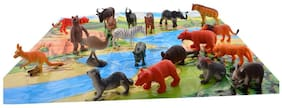 Aarushi Wild Animals Set Pack Of 20