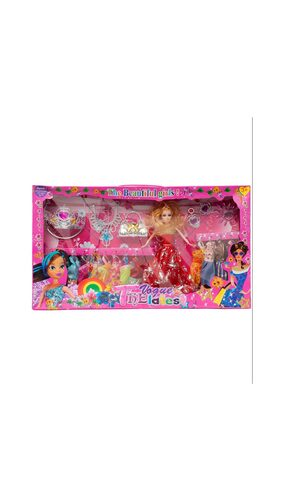 Aaryan Enterprise Multicolour Barbie Set
