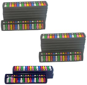 Abica Abacus 17 Rod Multi color ( PACK OF 25 )