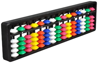 Abica Abacus math learning kit for kids multi color 15 rod ( pack of 1 )