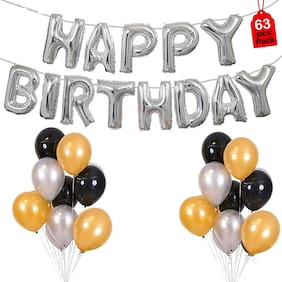 ABLEGATE Balloon For Happy Birthday Decoration Item.