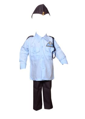AD Airforce Officer Fancy Dress | Kids Indian Airforce Officer Costume & fancy dress | Airforce Lieutenant Dress | Use for school competitions, Events, Annual Functions.