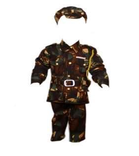 AD Army Kargil Dress | Kids Indian Army Kargil Costume & fancy dress | Army Kargil Officer Dress | Use for school competitions, Events, Annual Functions.