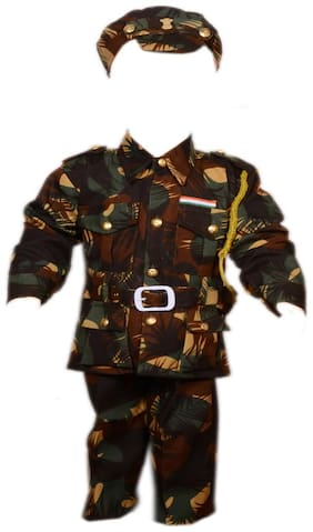 AD Army Kargil Dress   Kids Indian Army Kargil Costume & fancy dress   Army Kargil Officer Dress   Use for school competitions, Events, Annual Functions.