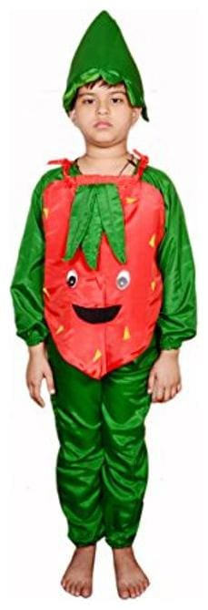 AD Carrot Fancy Dress | Kids Carrot Costume & fancy dress | Carrot Dress | Use for school competitions, Events, Annual Functions.