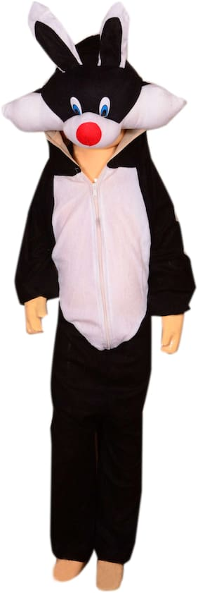 AD Cat fancy dress for kids  Cat costumes   high quality material Use for school competitions, Events, Annual Functions.