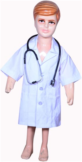 AD DOCTOR fancy dress for kids| DOCTOR costumes| |high quality material|Use for school competitions, Events, Annual Functions.