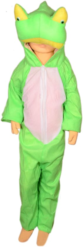AD Frog fancy dress for kids| Frog costumes| |high quality material|Use for school competitions, Events, Annual Functions