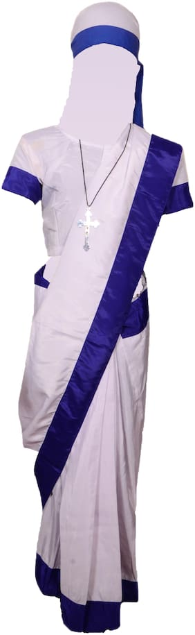 AD Mother Teresa   Mother Teresa fancy dress for kids,National Hero Costume for Independence Day/ Fighting Costume /Republic Day/,National Hero/Annualfunction/ThemeParty/Competition/Stage Shows Dress