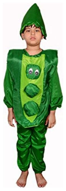 AD Peas Fancy Dress | Kids Peas Costume & fancy dress | Peas Dress | Use for school competitions, Events, Annual Functions.