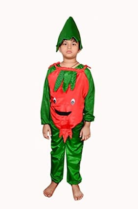AD Pomegranate Fancy Dress | Kids Pomegranate  Costume & fancy dress | Pomegranate  Dress | Use for school competitions, Events, Annual Functions.