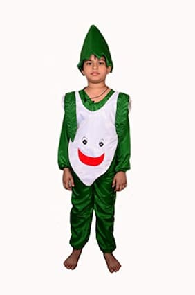 AD Radish Fancy Dress | Kids Radish Costume & fancy dress | Radish Dress | Use for school competitions, Events, Annual Functions.