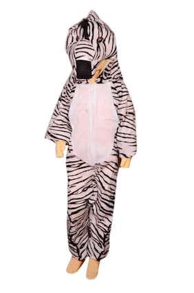 AD Zebra fancy dress for kids| Zebra costumes| |high quality material|Use for school competitions, Events, Annual Functions.