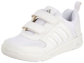 Adidas White Boys School Shoes