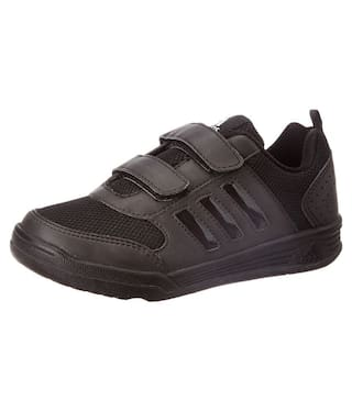 737891dfb6b6 Buy Adidas Black School Shoes for boys Online at Low Prices in India ...
